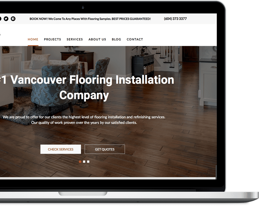 Company Website for BC Best Flooring
