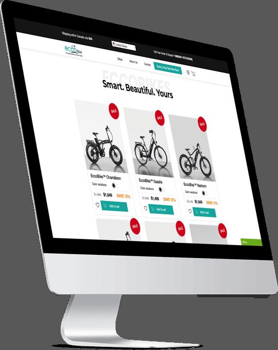 E-Commerce Store for EccoBikes Inc.