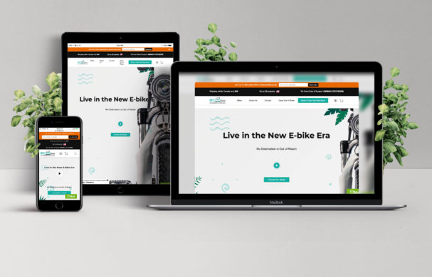 E-Commerce Store for EccoBikes Inc.