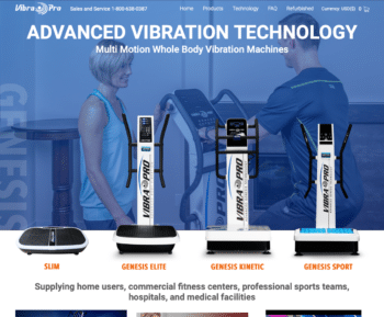 E-commerce Solution for VibraProFitness