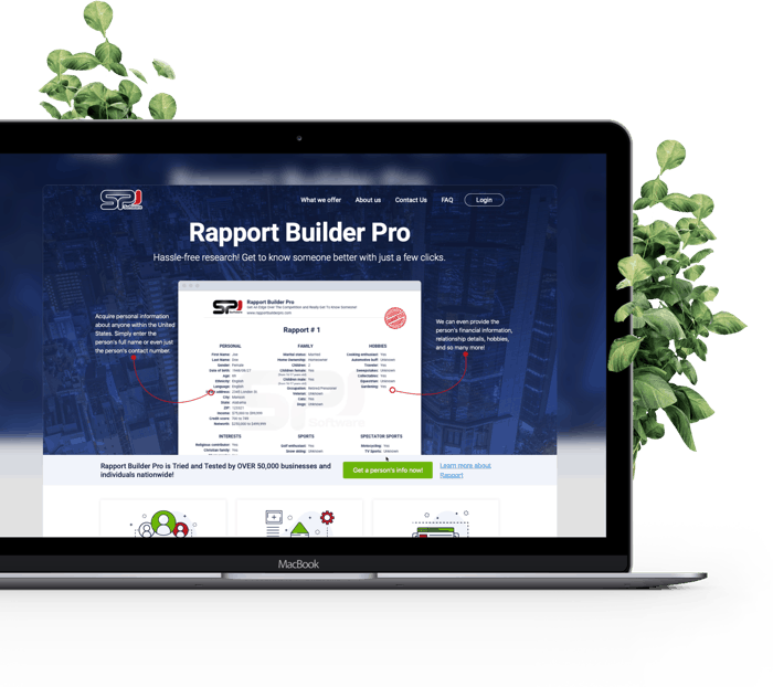 Custom Portal for Rapport Builder Pro